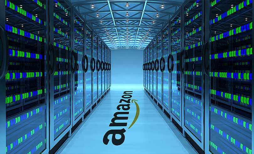 Image result for amazon aws server room